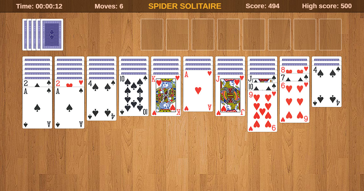 Spider Solitaire Free Download